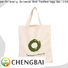 wholesale custom cotton tote shopping company for daily using