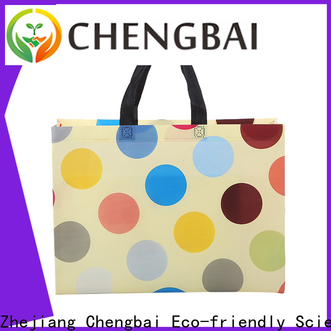 durable non woven tote laminated wholesale for promotion