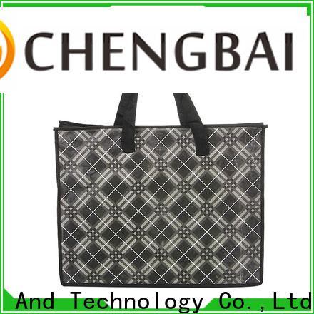Chengbai design non woven products trendy designs for packing