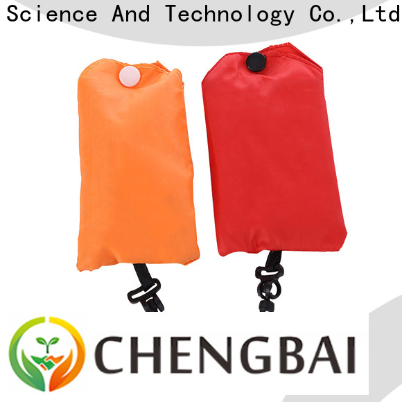 Chengbai zipper printed shopping bags company for daily necessities