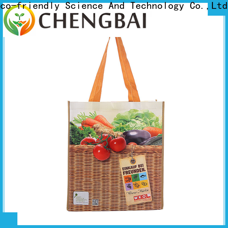 Chengbai customized pp woven sack bags Supply for packing