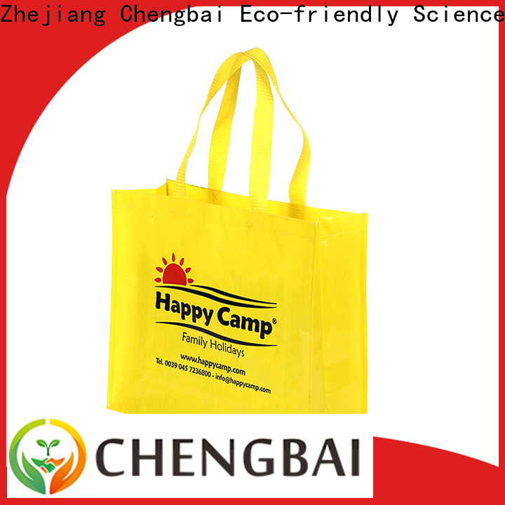 Chengbai fashion pp woven laminated bag Suppliers for packing