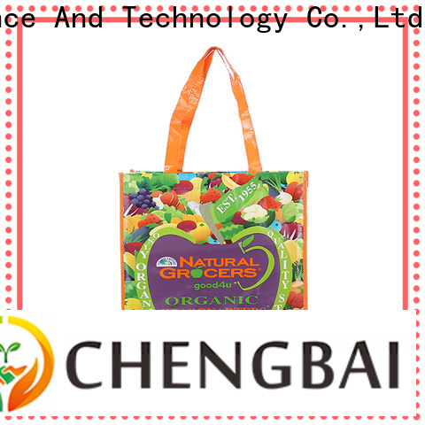 Chengbai woven pp woven bags china factory for daily necessities