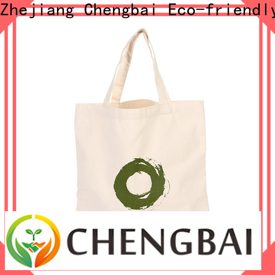 Chengbai durable cotton tote bag company for daily necessities