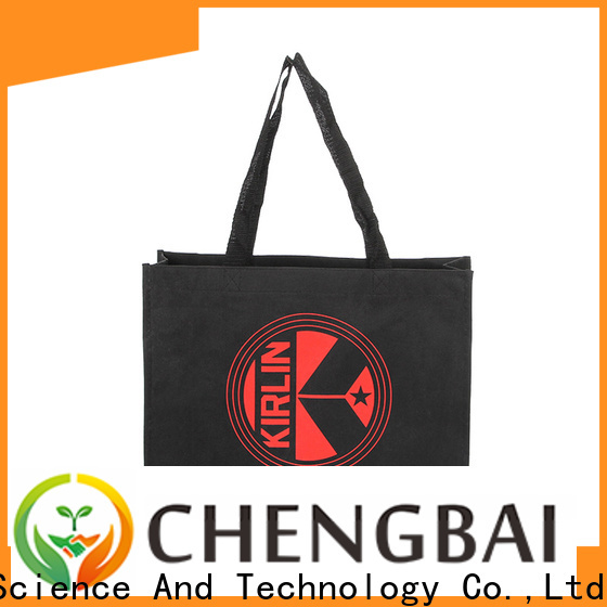 Chengbai shopping cotton bags Supply for daily using