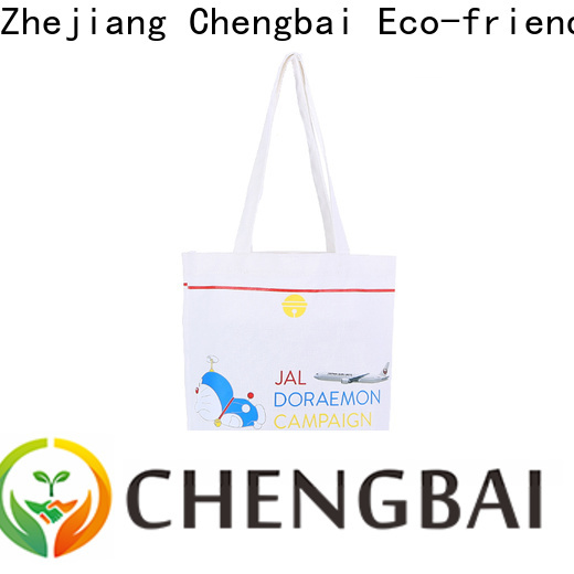 Chengbai organic custom cotton tote Suppliers for gift