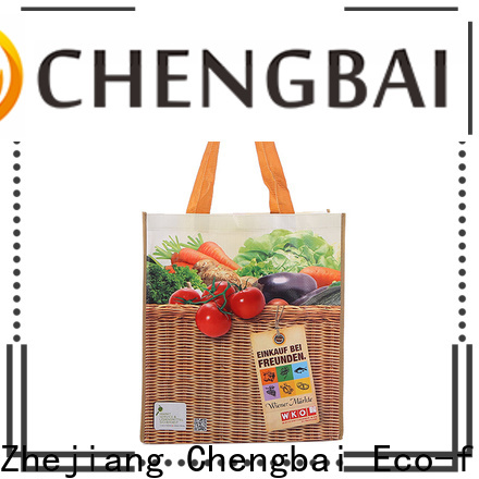 Chengbai waterproof pp woven bag manufacturers for packing