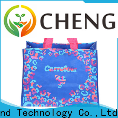 Chengbai Custom pp woven tote bag factory for packing