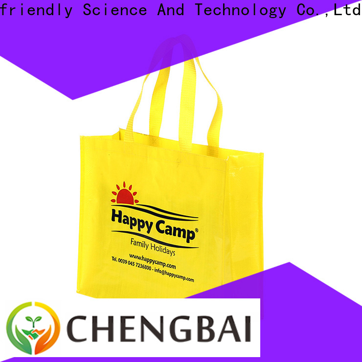 Chengbai reusable pp woven bags Suppliers for daily necessities