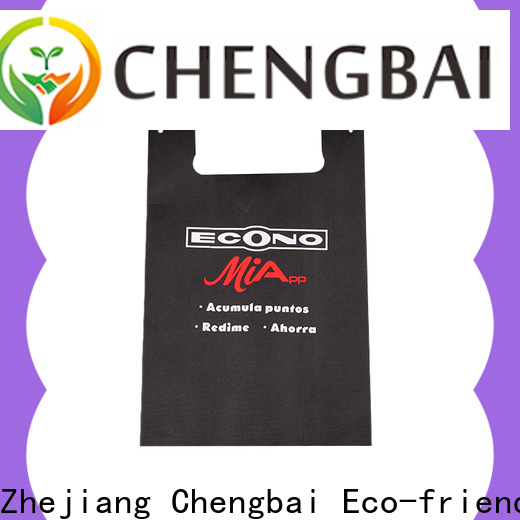 Chengbai sale non woven bags in coimbatore awarded supplier for advertising