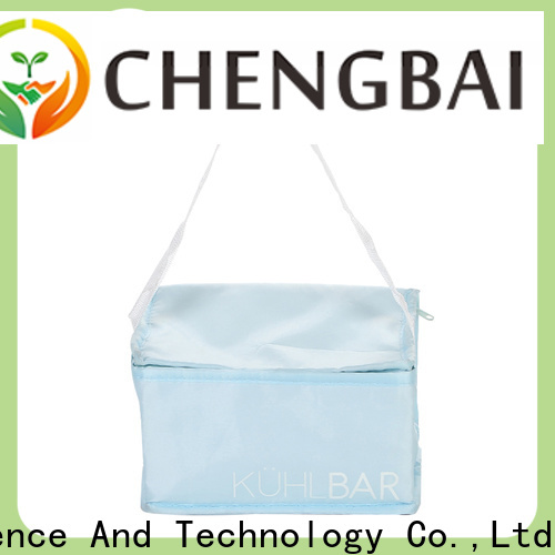 Chengbai digital printing cooler tote bag fast delivery for daily necessities