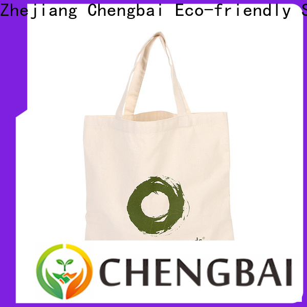 Chengbai shopping cotton cloth bags special buy for daily necessities