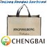 Chengbai material pp woven bags manufacturing machinery factory for shopping
