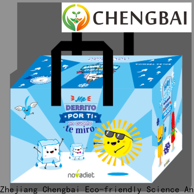 Chengbai customized heavy duty cooler bag fast delivery for packing
