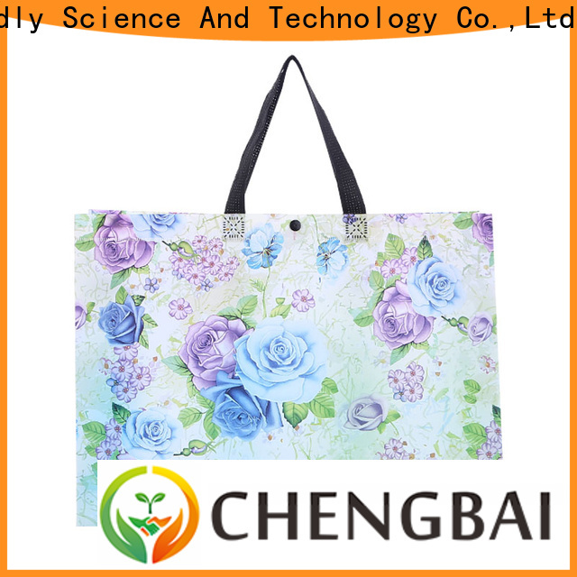 Chengbai portable pp woven packaging bags wholesale for packing
