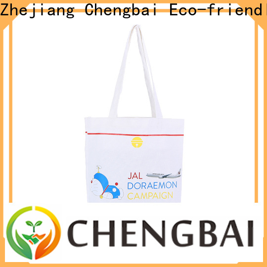Chengbai hot selling canvas shopping bag Supply for packing