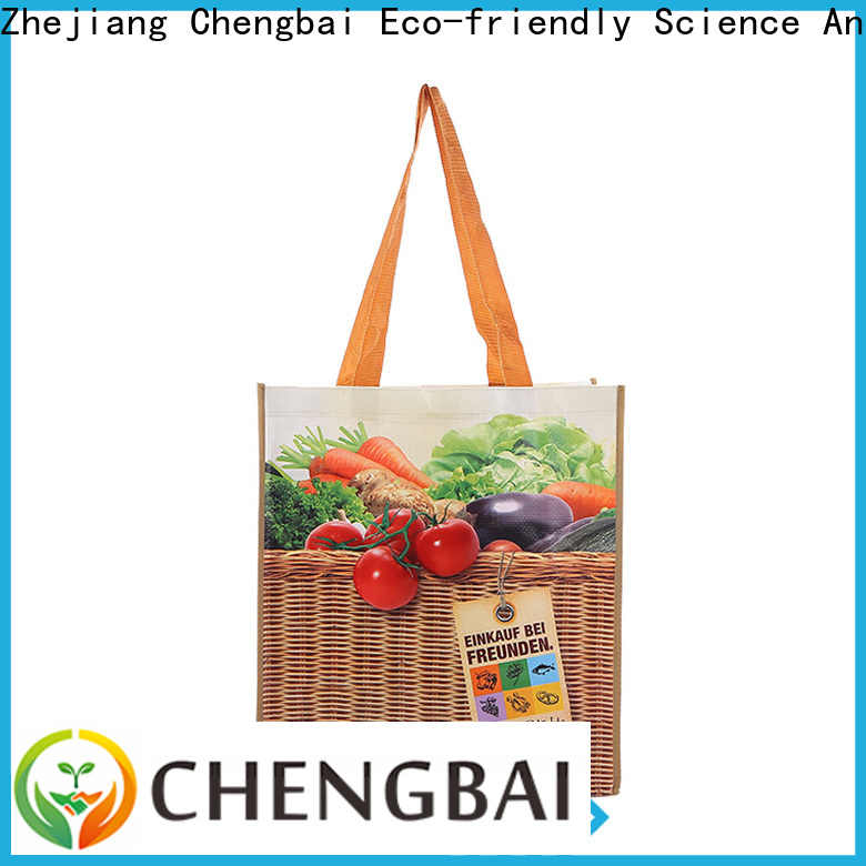 Chengbai bag wholesale pp woven bags company for packing