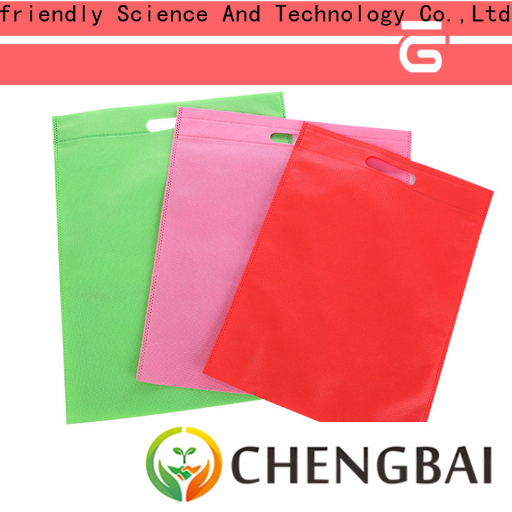 Chengbai Top pembekal non woven bag murah awarded supplier for promotion