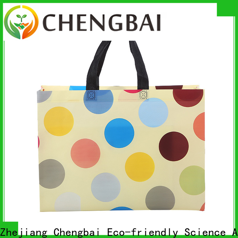 Chengbai waterproof pp woven bag buyer factory for packing